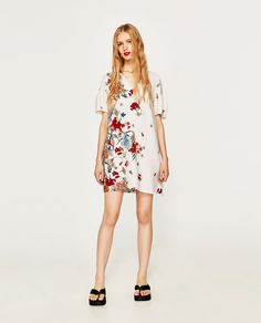 ZARA - SALE - FLORAL PRINT DRESS
