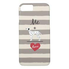#cute - #Me plus Dalmatian equal Love Cute Phone Case
