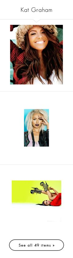 """""""Kat Graham"""" by fandoms-have-eaten-my-soul ❤ liked on Polyvore featuring girls, people, kat graham, the vampire diaries, katerina graham, blonde, home, home decor, pictures and pics"""