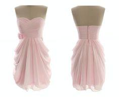 Pink Bridesmaid Dresses Short, Grey Bridesmaids, Elegant Prom Dresses, Wedding Party Dresses, Homecoming Dresses, Peach Dresses, Bridesmaid Gowns, Grad Dresses, Dress Party