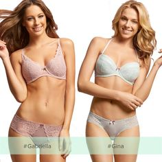 Which sexy set is inspiring your spring sensation! #Gabriella or #Gina? #CHANGELingerie 2015