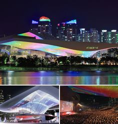 Movie theaters of the future | Movie Theater : Busan Cinema Center – Busan, South Korea