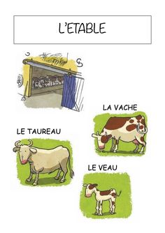 animals vocabulary for kids \ animals vocabulary + animals vocabulary english + animals vocabulary worksheets + animals vocabulary for kids + animals vocabulary activities French Teacher, Teaching French, Ontario Curriculum, Farm Animal Crafts, Teaching Schools, French Classroom, Kindergarten Lessons, Vocabulary Worksheets, French Language Learning