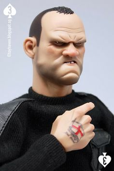 """Review 1: DAM Toys 1/6 scale The Gangsters Kingdom Spade 3 12"""" figure (Wayne Rooney?)"""