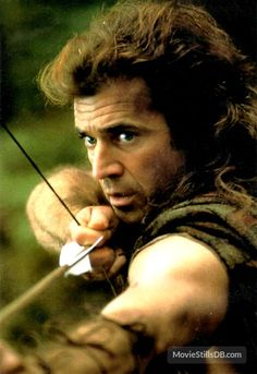 Braveheart publicity still of Mel Gibson