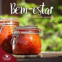 Dica de Bem-estar: Alimentação!!!! 😋😋😋 Faça seu próprio molho de tomate caseiro! Esse coringa da cozinha, que se encaixa bem com vários ingredientes, é mais  saudável e nutritivo quando feito em casa - além de não receber conservantes. Para guardá-lo, reaproveite aquele pote de vidro que iria para o lixo. Assim, você cuida da sua saúde e ajuda na preservação do planeta! #congeladosdasonia #dicas #bemestar #dicasdebemestar #alimentacao #tomate #molho #molhodetomatecaseiro #semconservantes…