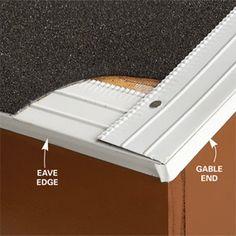Felt over drip edge or drip edge over felt? Get the answers here