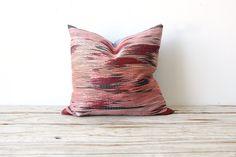 Pink Southwestern & Chambray Pillow.