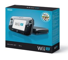 Nintendo Wii U Console – 32GB Black Deluxe Set Giveaway