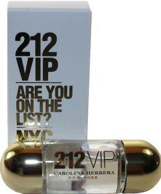 212 VIP BY CAROLINA HERRERA 0.17 OZ EDP SPLASH MINI FOR WOMEN NEW IN BOX