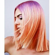 Undeniably one of the hottest hair color trends of the last few years, here's some gorgeous ombre hair inspiration — and the haircuts that show it off. Hot Hair Colors, Ombre Hair Color, Red Ombre, Hair Rainbow, Aveda Hair Color, Grunge Hair, Hair Videos, Balayage Hair, Pink Hair