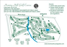 Hominy Hill Golf Course Lay out