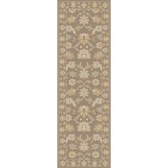 World Menagerie Topaz Hand-Tufted Taupe Area Rug Rug size: 5' x 8'