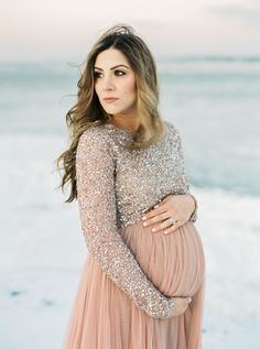 Life and style blogger Lauren McBride shares What to Wear for a Winter Maternity shoot, including tips on selecting clothing to layering for the session.