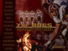 Washington Redskins Original Hogs | Pin it Like Image