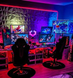 Custom Gaming Computer, Computer Gaming Room, Computer Desk Setup, Best Gaming Setup, Gaming Room Setup, Pc Setup, Business Office Decor, Man Cave Room, Cheap Games