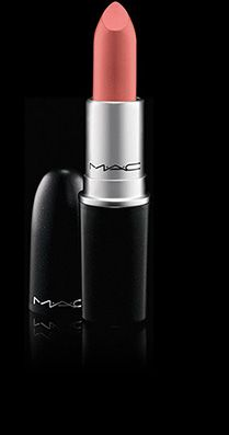 MAC Cosmetics: Lipstick in Runway Hit, lovely color but no Mattes for me