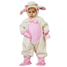 #BFCM #CyberMonday #Trendy Halloween - #Alan Fernandez Sheep Girl Classic Infant & Toddler Costume - AdoreWe.com