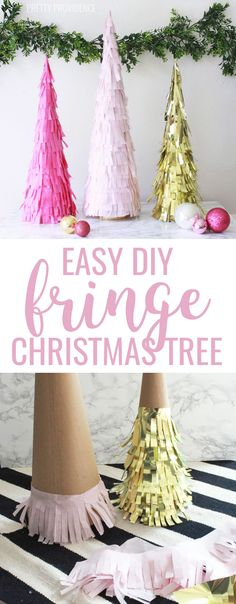 These DIY fringe Chr