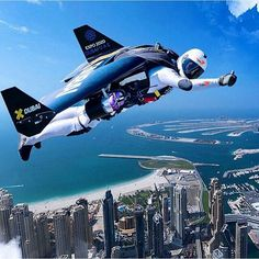Jetman over Dubai