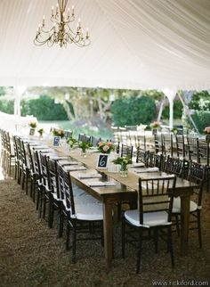 lovely tented #reception (credit: A Little Something Detailed)