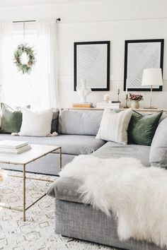 Living Room Decor Cozy, Living Room Grey, Living Room Modern, Home Living Room, Living Room Designs, Living Room With Sectional, Living Room Ideas, Grey Living Room Inspiration, Living Room Decor Grey Couch