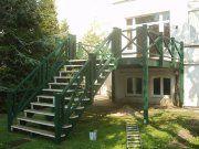 Bild Hochterrasse Balkon Holzbalkon, http://www.oldenburg-zimmerei.com/1,000000002443,8,1
