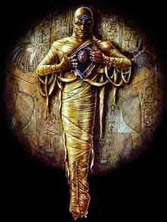 """Os trabalhos de embalsamento era realizados na margem ocidental do Nilo, longe das habitações, em tendas e depois em salas conhecidas como """"Belas Casas"""" ou """"Casas da Purificação"""".   Os trabalhos eram vigiados por sacerdotes que usavam máscaras que reproduziam a cabeça de Anúbis, deus dos mortos."""