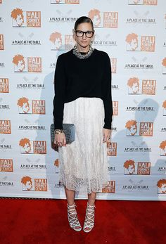 Jenna Lyons attends 2015 Ali Forney Centers' 'A Place At The Table' fundraiser at Capitale on October 23 2015 in New York City