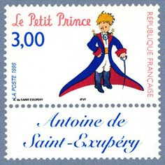 "We looked at an old letter from the ""de Saint-Exupéry"" family.  A member of that family is found a lot on stamps: the famous writer a..."