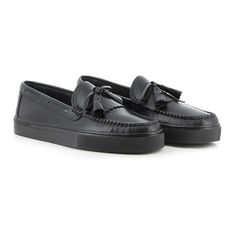 Weejuns Cup Layton Pull Up Kitlie Black Mono Leather