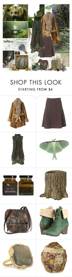 """Wandering Alone"" by cyanideteaparty ❤ liked on Polyvore featuring GANT, Aula Aila, Phase Eight, El Naturalista and Monica Vinader"