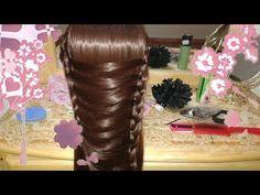 peinados faciles y bonitos / peinado para cabello largo 2014-2015 - YouTube