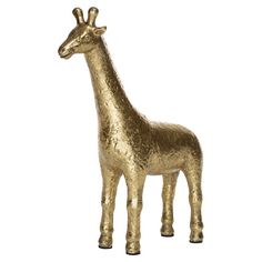 Georgie The Giraffe Gold Colour