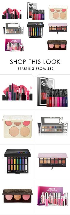 """Christmas Gift Ideas for Every Beauty Lover in Your life"" by treceefab ❤ liked on Polyvore featuring beauty, Sephora Collection, Kat Von D, Becca, ULTA, Urban Decay, Anastasia Beverly Hills and Buxom"