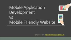 What is more beneficial site or app? Check out what is the difference between mobile website and mobile application development.