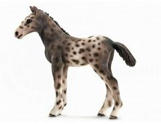 The Knabstrupper Foal from the Schleich horse collection - Discounts on all Schleich Toys at Wonderland Models.