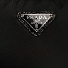 Prada bag, black, designer, logo, fashion, expensive, bag