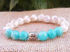 Check out this item in my Etsy shop https://www.etsy.com/uk/listing/242428396/buddha-bracelet-buddhist-mala-bracelet