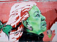 Literary Graffiti. Toni Morrison, Spain – The Frisky