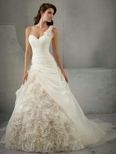 Precioso vestido de novia
