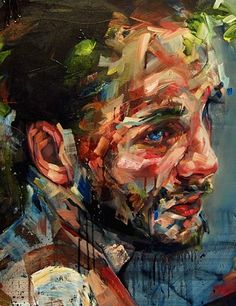 ANDREW SALGADO |  THE BACCHANAL 2012 - detail |  Oil on canvas - 120x100cm