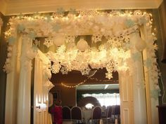 Awesome pictures- love the entrance to the kids buffet (we did that at our wedding- huge hit!)