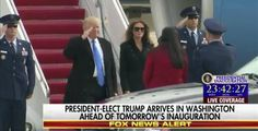 Watch:+The+45th+President+of+the+United+States+Gives+His+First+Salute