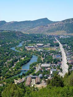Durango and the Animas River Viewed from Animas City Mountain by gmeador, via Flickr