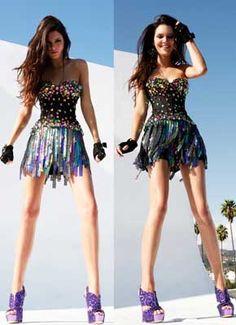 Kendall Jenner models Sherri Hill 2900   #SHERRIHILLSTYLE