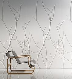 B Industries, Inc. Iconic Panels in Helsinki Creative Alternative to wall coverings or paint! Interior And Exterior, Interior Design, Textured Walls, Textured Wallpaper, Wall Wallpaper, Plaster Walls, Loft Spaces, Wall Treatments, 3d Wall