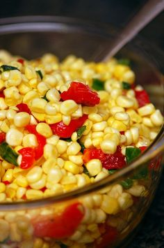 Corn Relish...goes great with Cheese Quiche