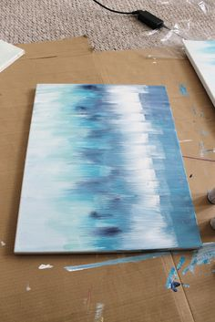 DIY Abstract Art How-to
