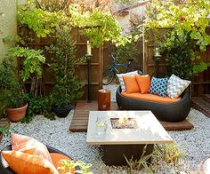 This backyard transformation will amaze you! Get inspired by this fun and trendy backyard space that one family completely updated. See how they converted their simple backyard into a unique hangout area, dining area and office.